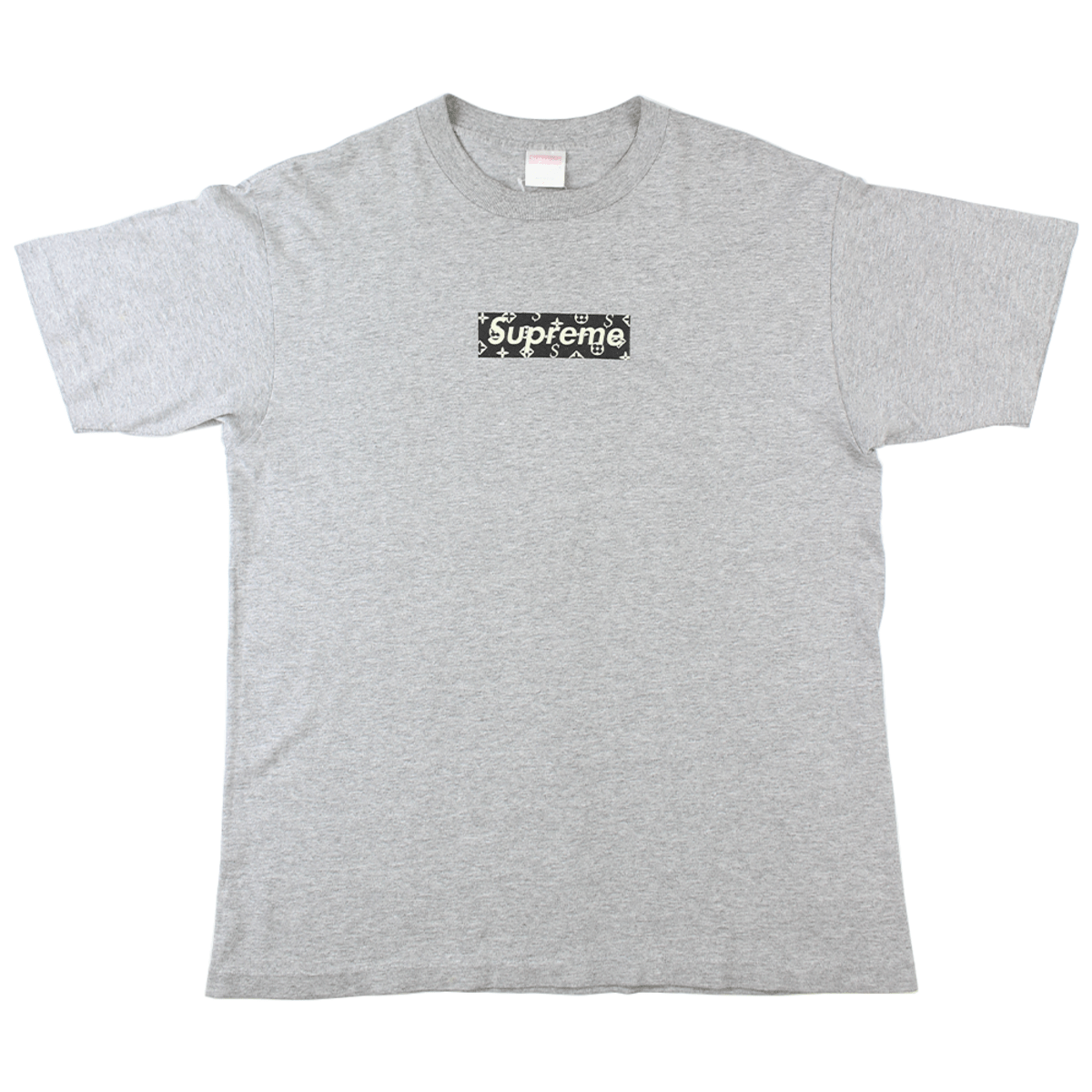 Supreme X Lv Box Logo Tee Grey