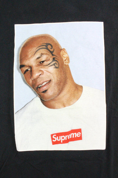 Supreme x Mike Tyson Tee Black - SaruGeneral