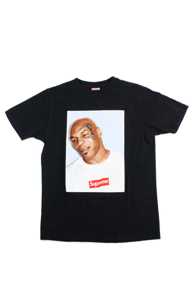 Supreme X Mike Tyson Tee Black Sarugeneral