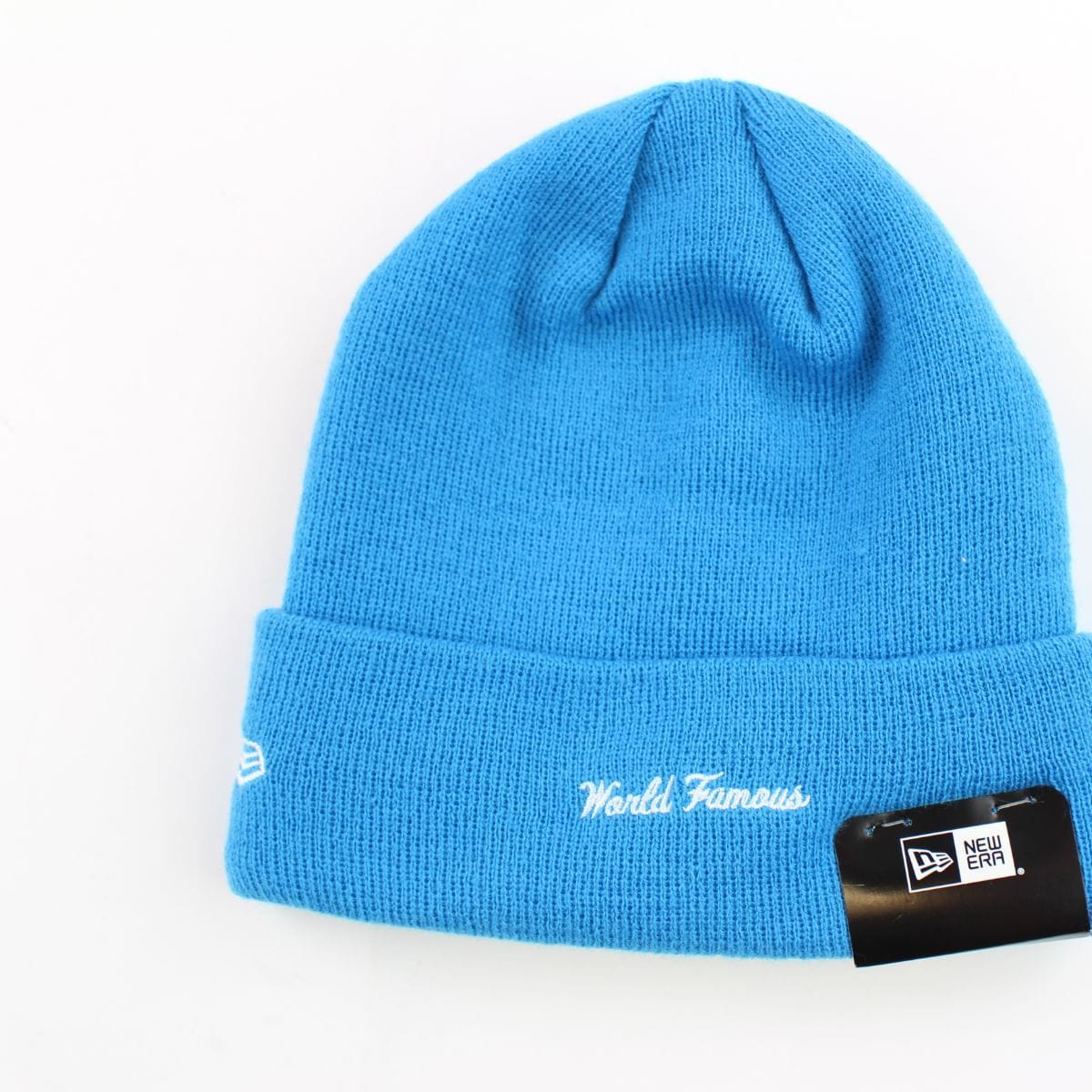 Supreme x New Era Royal blue box logo Beanie - SaruGeneral