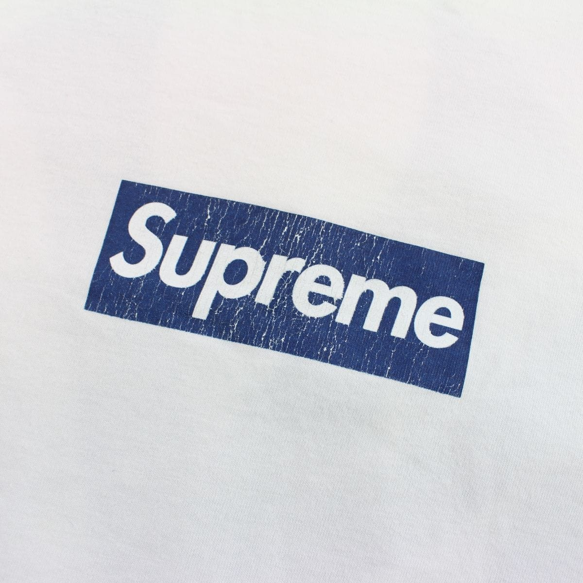 Supreme x New York Yankees Box Logo Tee White - SaruGeneral