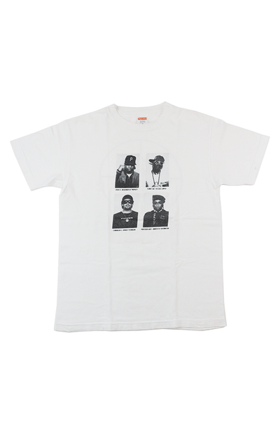 Supreme x Public Enemy Photo Tee White - SaruGeneral