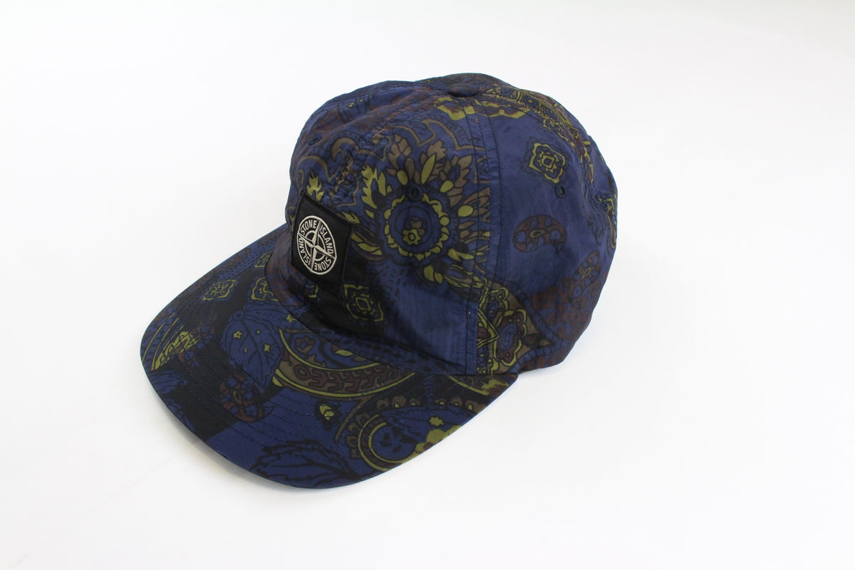 Supreme x Stone Island Blue paisley 6panel - SaruGeneral