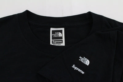 Supreme x TNF Mountain Tee Black - SaruGeneral