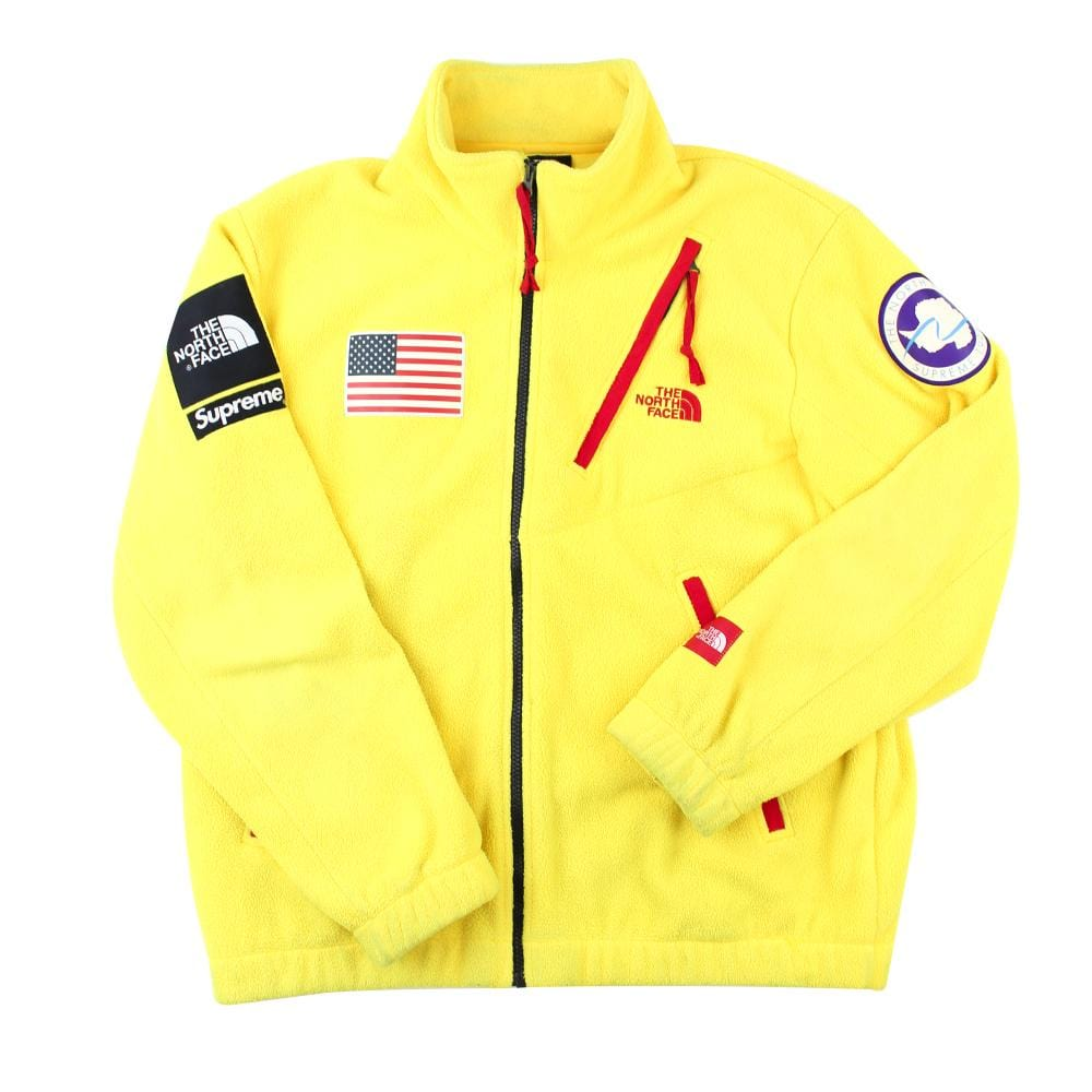 Supreme x TNF Antarctica Expedition Fleece Yellow