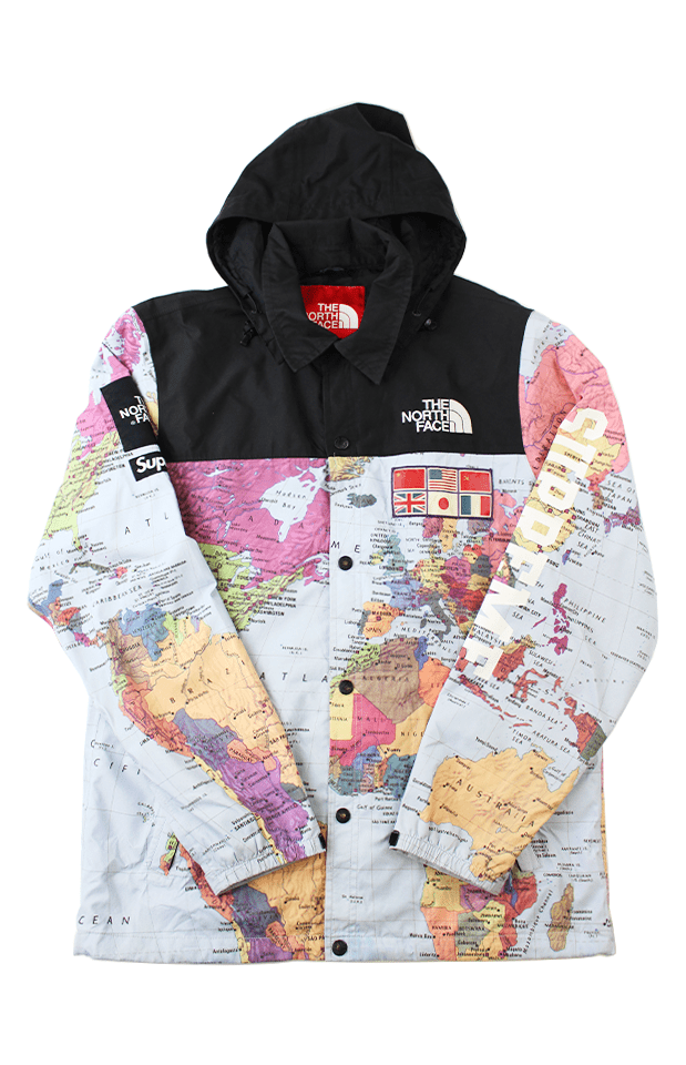 Supreme x TNF Maps Expedition 2014