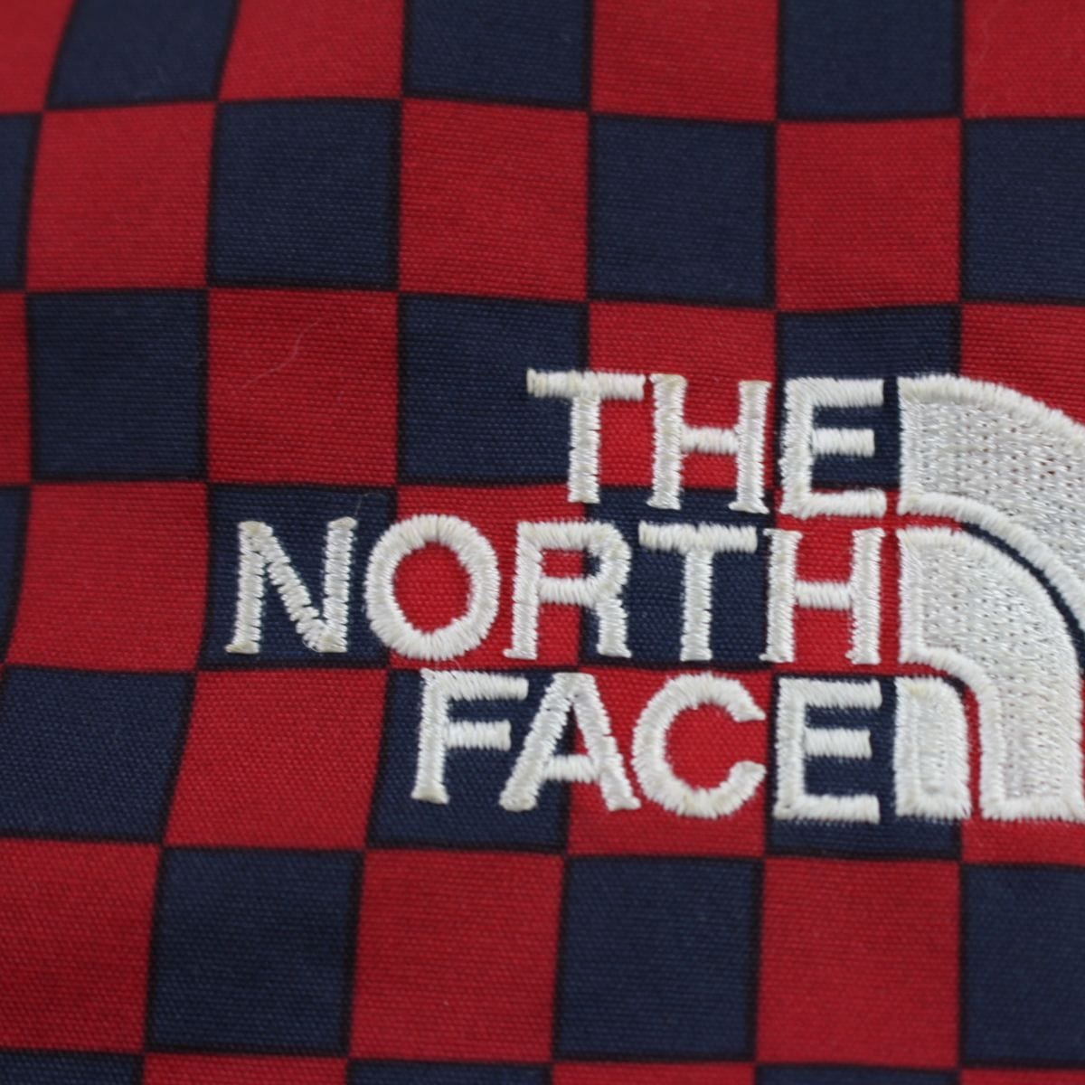 Supreme x TNF Red Checkered Pullover - SaruGeneral