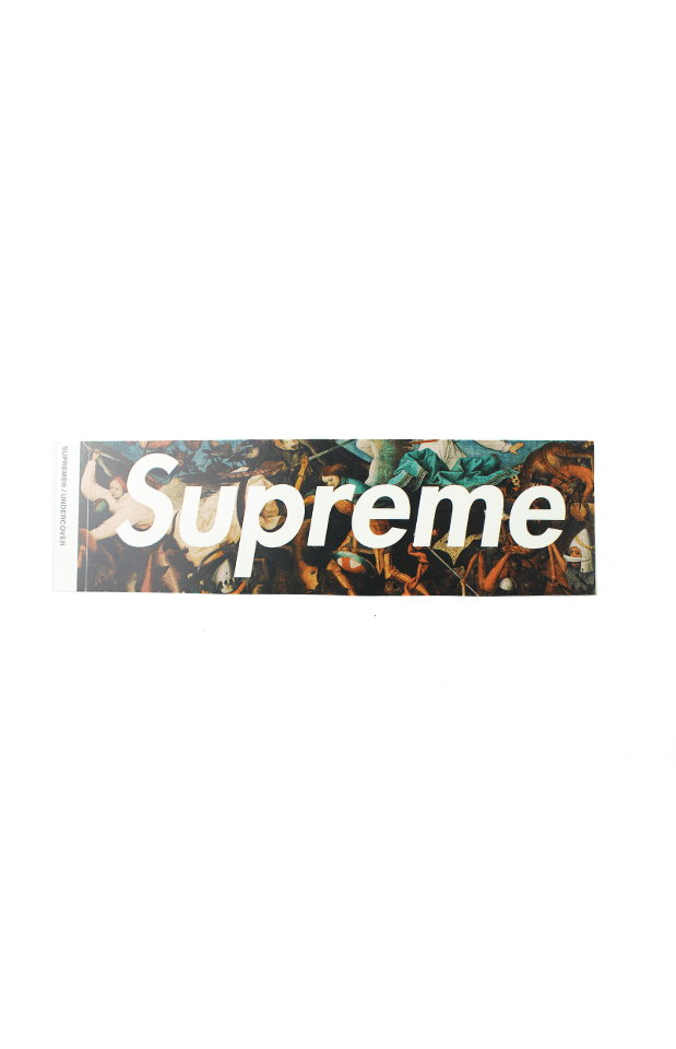 Supreme x Undercover Fight Scene Box Logo Sticker - SaruGeneral