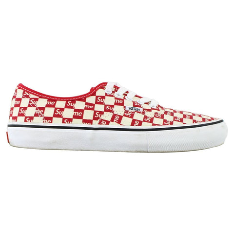 Supreme x Vans Red Checkered