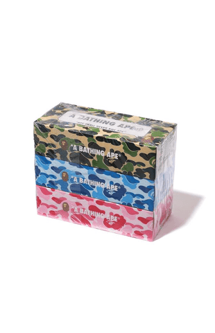 BAPE Tissue Boxes - SaruGeneral