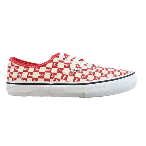 Supreme x vans checkered red 2016 - SaruGeneral