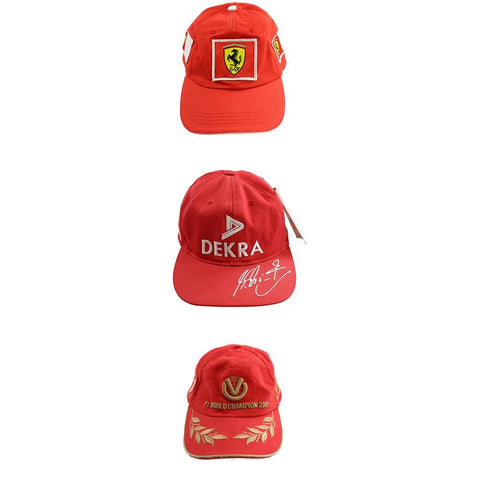 Ferrari Logo hat set of 3 - SaruGeneral