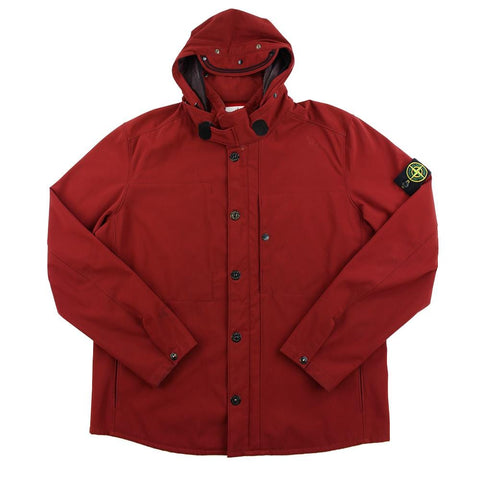 Stone Island AW 2011 fleece lined Jacket Burgundy - SaruGeneral