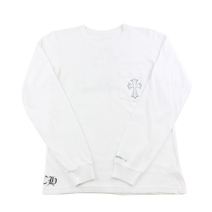 Chrome Hearts Crosses Ls White - SaruGeneral