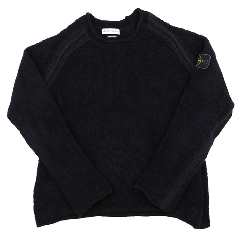 Stone Island Black Knit Autumn/Winter 2002 - SaruGeneral