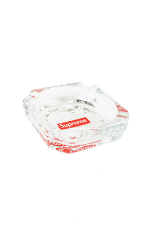 supreme glass box logo square ashtray - SaruGeneral