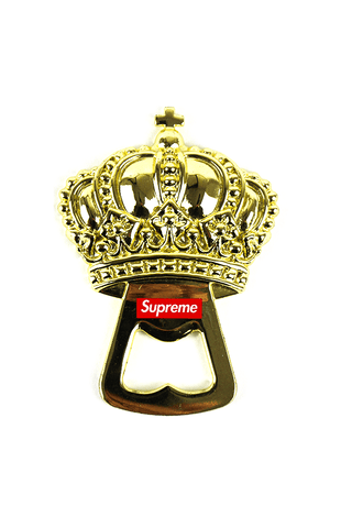 supreme gold crown bottle opener - SaruGeneral