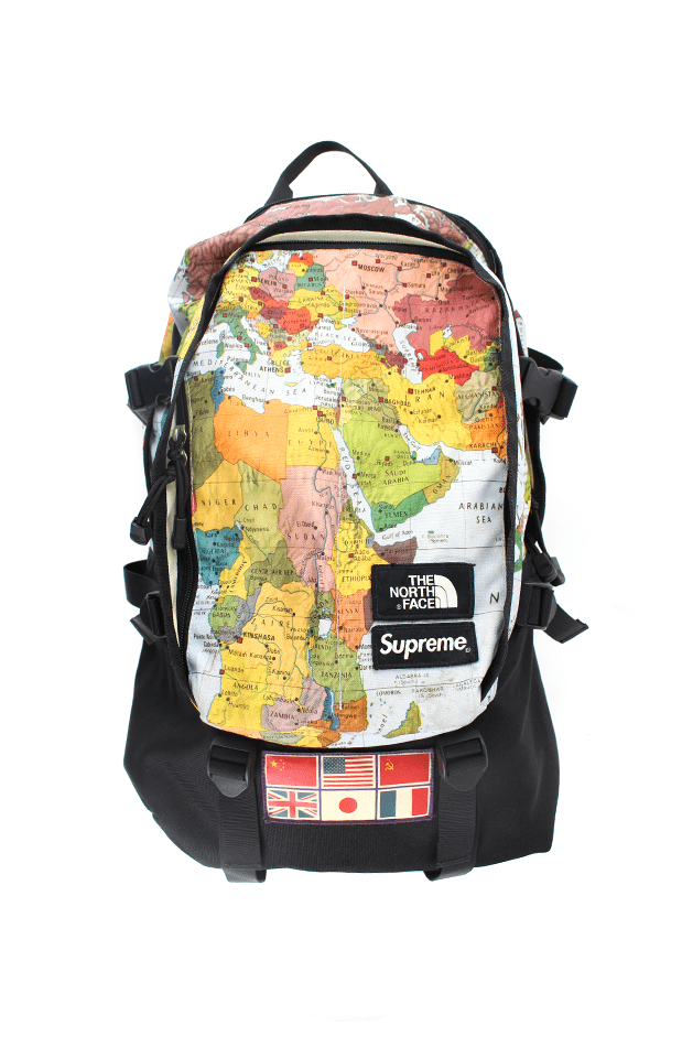 fec9d9149 supreme x the north face maps expedition backpack