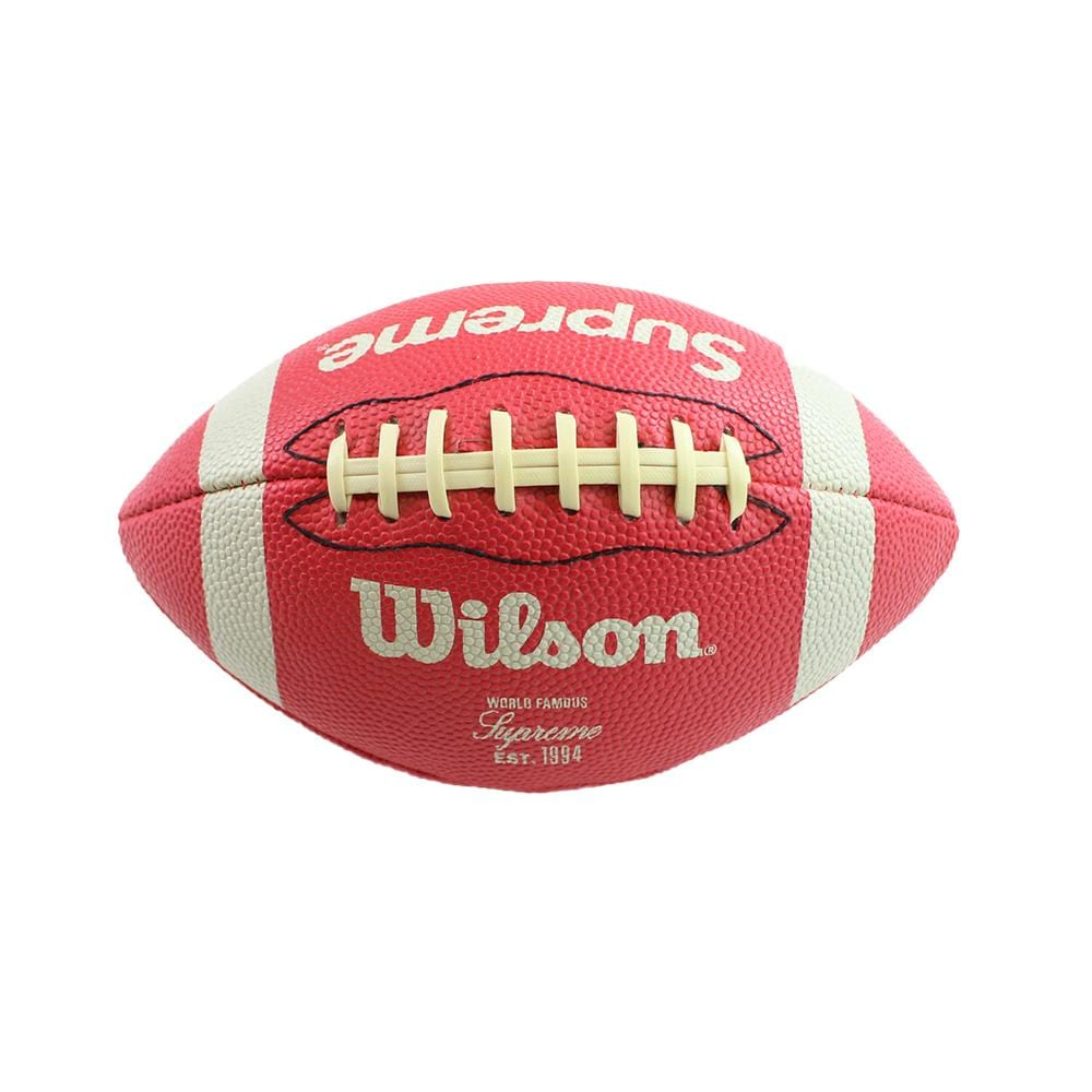 supreme x wilson football red 2010 - SaruGeneral
