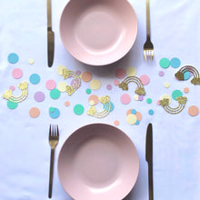 Load image into Gallery viewer, Pastel Rainbow Confetti, Table Scatters, Table Sprinkles
