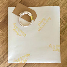 Load image into Gallery viewer, Mother's Day Hand Stamped Gift Wrapping Paper