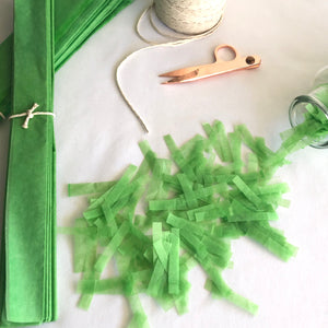 Lime Green Sprinkle Confetti