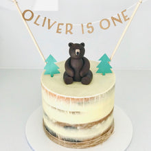 Load image into Gallery viewer, Woodland Wonder Personalised Cake Topper