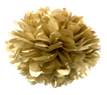 Load image into Gallery viewer, Gold Tissue Paper Pom Pom