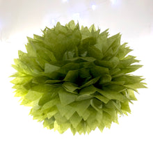 Load image into Gallery viewer, Avocado Green Tissue Paper Pom Pom