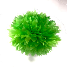 Load image into Gallery viewer, Lime Green Tissue Paper Pom Pom