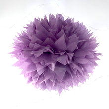 Load image into Gallery viewer, Purple Tissue Paper Pom Pom
