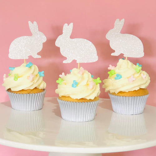 Easter Rabbit Cupcake Topper