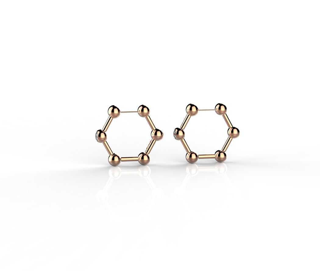 Signature Molecule Hoops