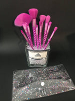 10pc Unicorn Brush Set
