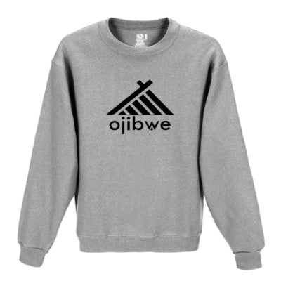 OJIBWE sweat shirt (grey)