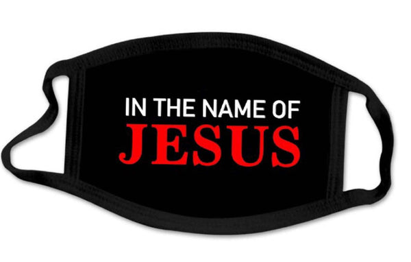 IN THE NAME OF JESUS mask
