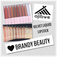 Velvet Liquid Lipstick - Brandy Beauty brand COMING SOON!