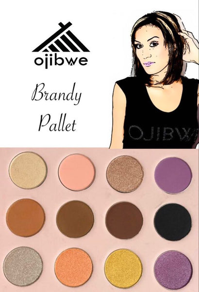 Brandy 12 eyeshadow pallet