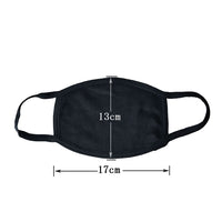Adult Cree mask (black)