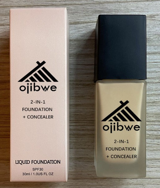 2-IN-1 Foundation + Concealer