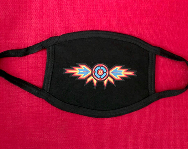 Adult Native Design mask (black)