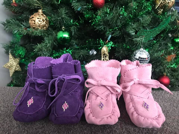 Baby Moccasin Wraps