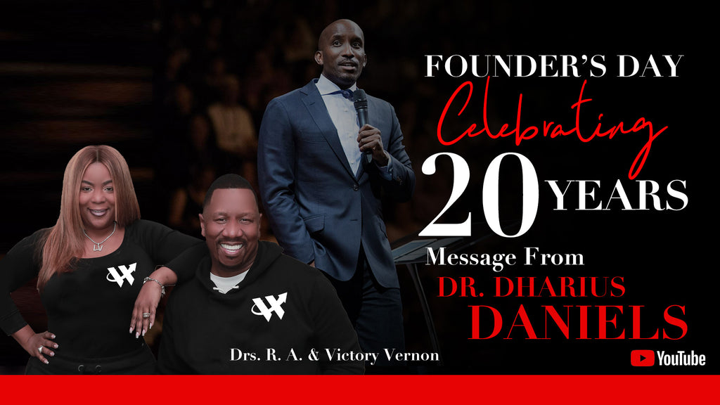 "Founder's Day Celebrating 20 Years ""I Am Number 12"" with Dr.  Dharius Daniels"