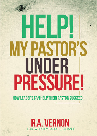 Help My Pastor's Under Pressure (Discounts and Coupon Codes Do Not Apply)
