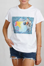 Load image into Gallery viewer, Feeling Nr.62 on White T-Shirt