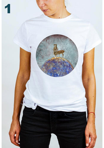 #wonderland: My magic planet, T-shirt