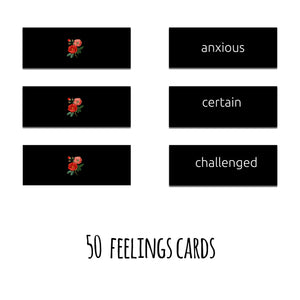 100 Conscious Feelings, Part I, Deck