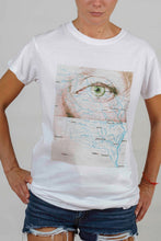 Load image into Gallery viewer, Feeling Nr.33 on White T-shirt