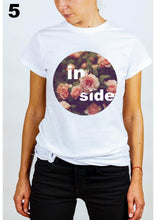 Load image into Gallery viewer, #wonderland: my inside flowers, T-shirt