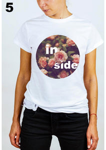 #wonderland: my inside flowers, T-shirt
